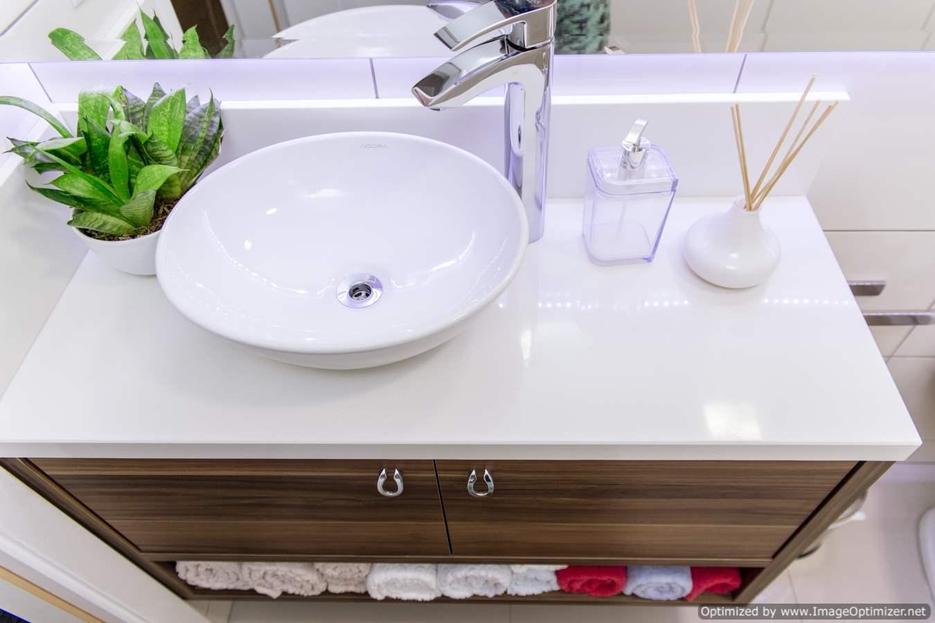 Banheiros Sob Medida Banheiro Social Planejado em Blumenau #3A7016 1350 900