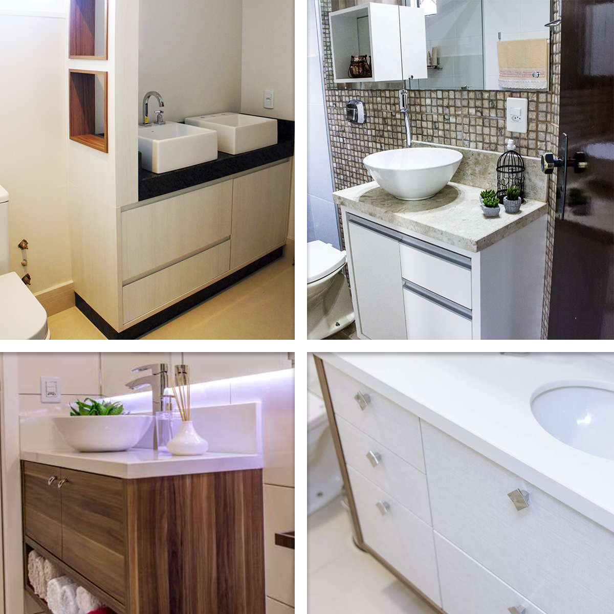 Revestimentos: São ótimas opções de como decorar o banheiro sem  #634431 1200x1200 Banheiro Antigo Como Decorar