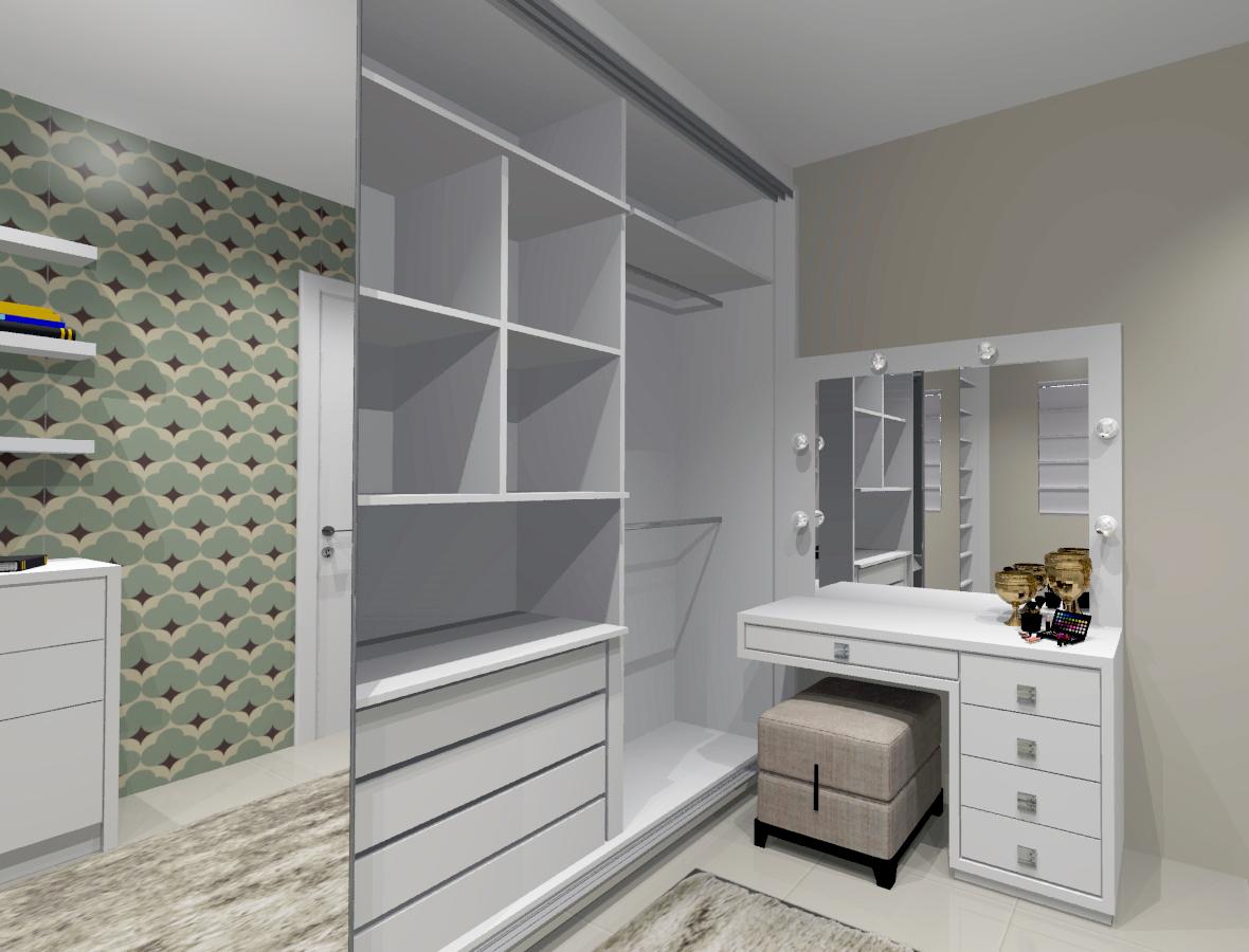 Como montar um closet perfeito closet sob medida for Modelos de zapateras en closet
